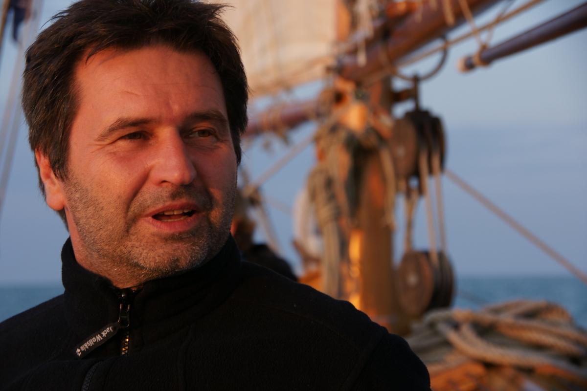 Wolfgang Schmiedt, directeur artistique de la Symphonie improvisée de Gdansk. 2009